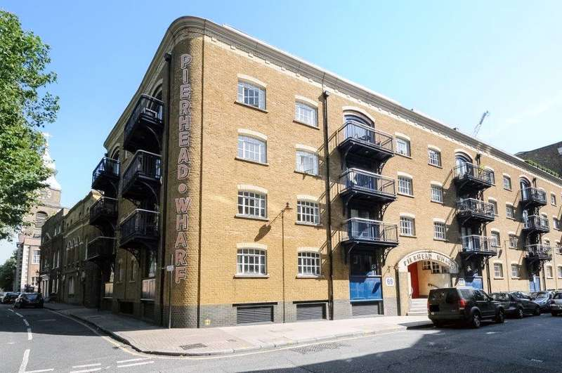 2 Bedrooms Apartment Flat for sale in Pierhead Wharf, 69 Wapping High Street, London, E1W