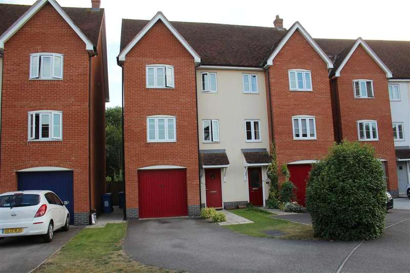 4 Bedrooms Semi Detached House for sale in Corporal Lillie Close, Sudbury