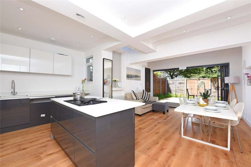 4 Bedrooms Semi Detached House for sale in Pirbright Road, London, SW18