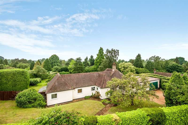 4 Bedrooms Detached Bungalow for sale in Woodhouse Lane, Holmbury St. Mary, RH5