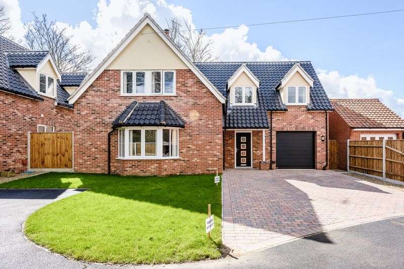4 Bedrooms Detached House for sale in Thrigby Road, Filby, Great Yarmouth