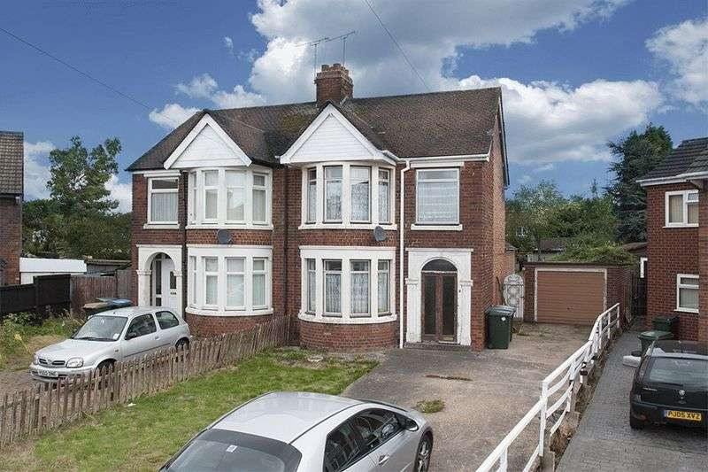 3 Bedrooms Semi Detached House for sale in Rock Close, Coventry