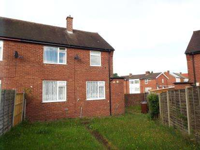 2 Bedrooms Semi Detached House for sale in Brooke Road, Hednesford, Cannock, Staffordshire