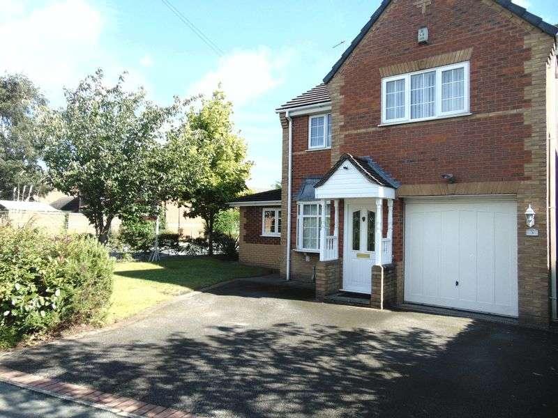 4 Bedrooms Detached House for sale in Masefield Way, Ettiley Heath, Sandbach