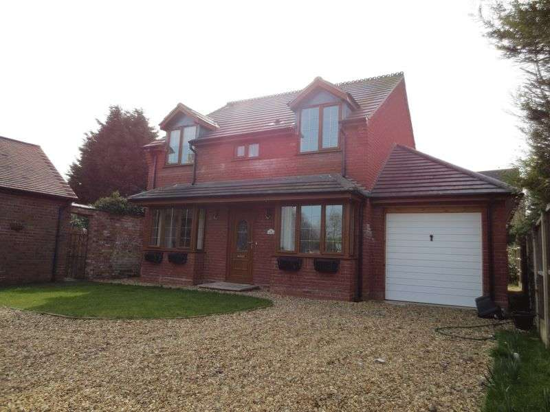 4 Bedrooms Detached House for sale in Cross Houses, Shrewsbury