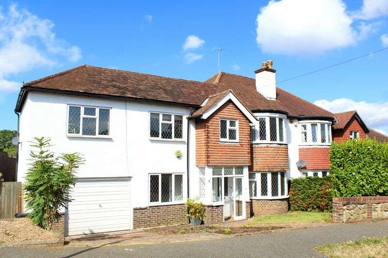 5 Bedrooms Semi Detached House for sale in Montague Avenue, Sanderstead, Surrey