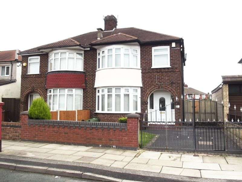 3 Bedrooms Semi Detached House for sale in Northway, Maghull