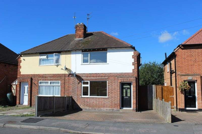 2 Bedrooms Semi Detached House for sale in Stonehill Avenue, Birstall, Leicester