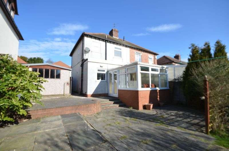 3 Bedrooms Semi Detached House for sale in 16 Baines Avenue, Blackpool Lancs FY3 7LA