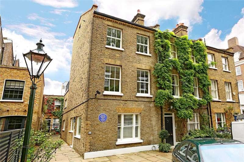 3 Bedrooms Semi Detached House for sale in Kensington Church Walk, London, W8