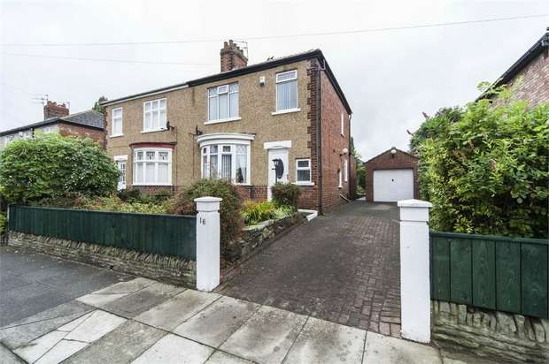 3 Bedrooms Semi Detached House for sale in Newham Grange Avenue, Stockton-on-Tees, Durham