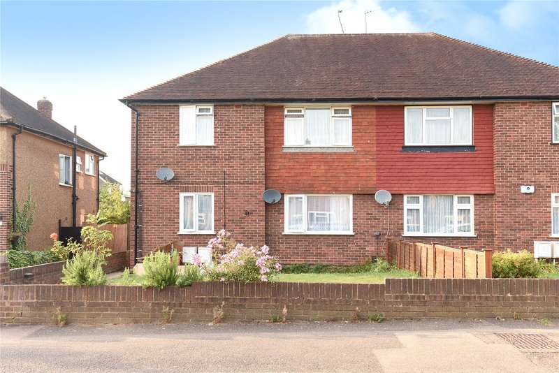 2 Bedrooms Maisonette Flat for sale in Whitby Road, Ruislip Manor, Middlesex, HA4