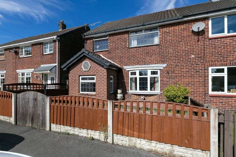 3 Bedrooms Semi Detached House for sale in St. Marys Road, Aspull, WN2 1SW