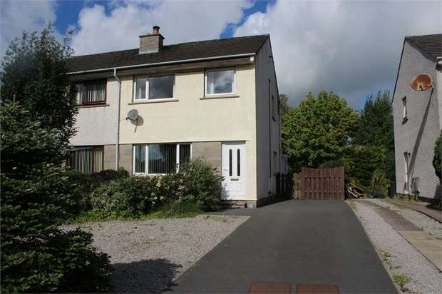 3 Bedrooms Semi Detached House for sale in Dalmun Avenue, Dalbeattie, Dumfries and Galloway