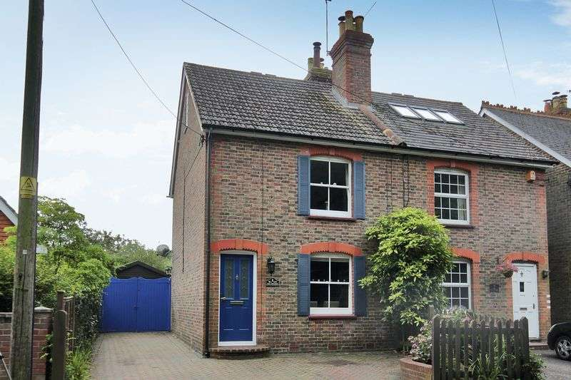 3 Bedrooms Semi Detached House for sale in Sandy Lane, Crawley Down, West Sussex