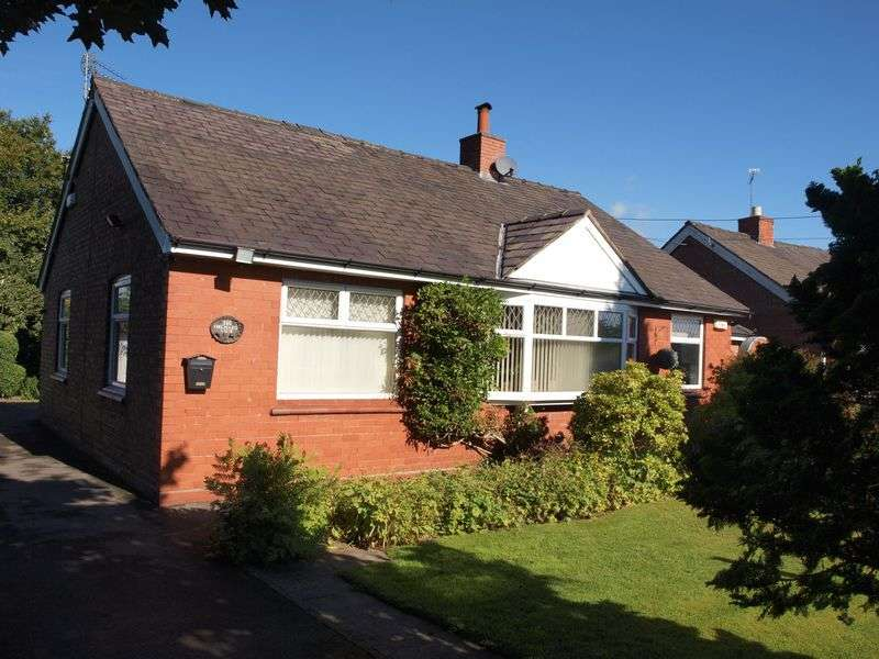 2 Bedrooms Detached Bungalow for sale in Shipbrook Road, Northwich, CW9 7HF