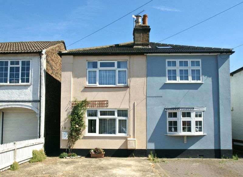 3 Bedrooms Semi Detached House for sale in Albert Road, Romford