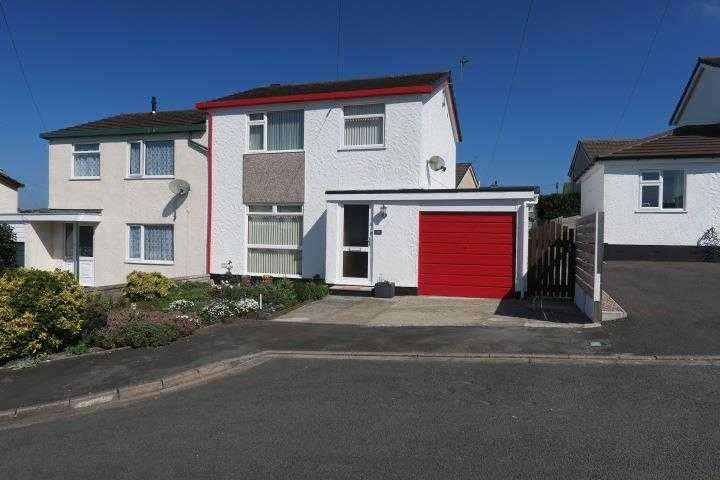 3 Bedrooms Semi Detached House for sale in Stad Ty Croes, Llanfairpwll