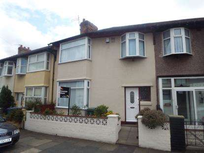 3 Bedrooms Terraced House for sale in Portelet Road, Liverpool, Merseyside, England, L13