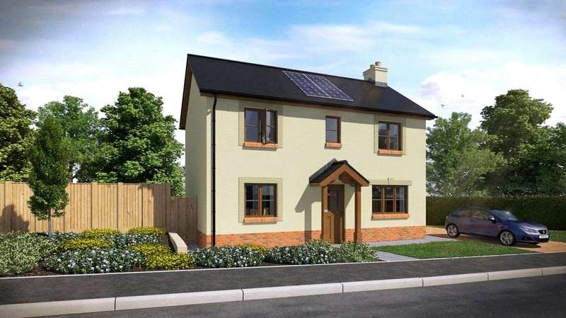 3 Bedrooms Semi Detached House for sale in Plot 35, The Dale, Ashford Park, Crundale
