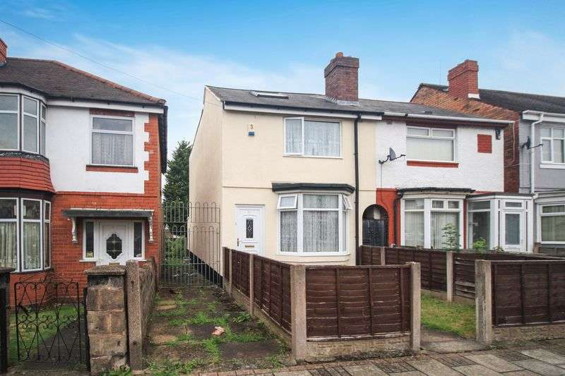 3 Bedrooms Semi Detached House for sale in Morley Road, Birmingham