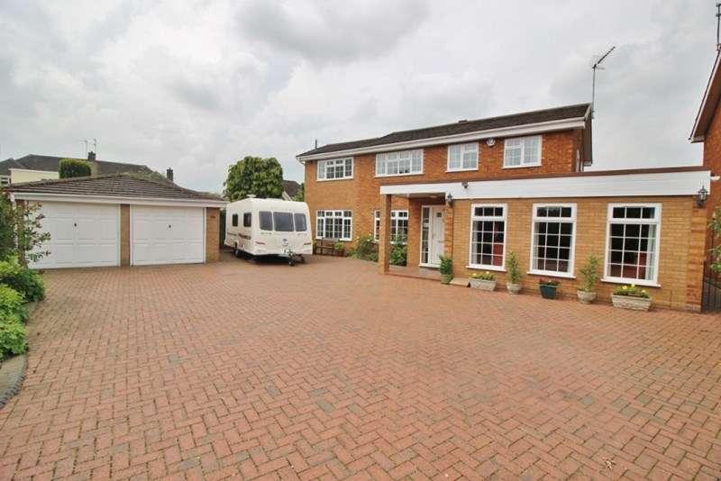 5 Bedrooms Detached House for sale in Windsor Gardens, Codsall, Wolverhampton