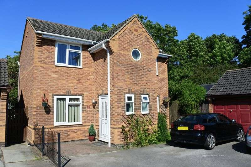 3 Bedrooms Detached House for sale in Bishopdale Close, Grantham