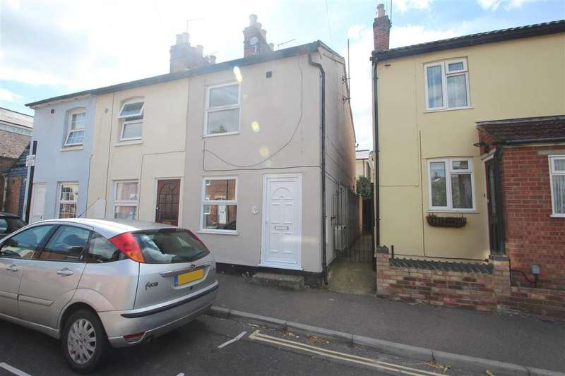 2 Bedrooms End Of Terrace House for sale in Winnock Road, New Town, Colchester