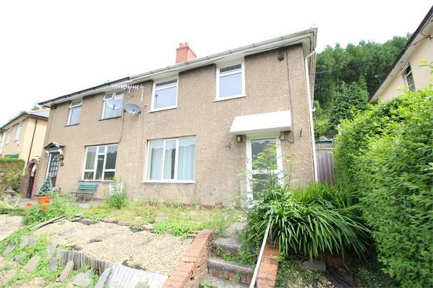 3 Bedrooms Semi Detached House for sale in Morrisville, Wattsville, Cross Keys, Newport, Caerphilly