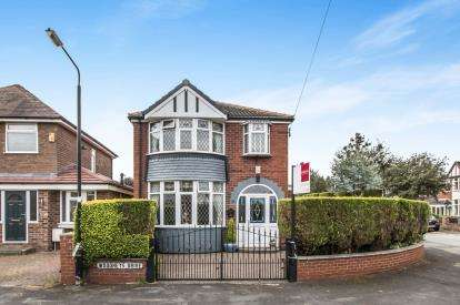 3 Bedrooms Detached House for sale in Woodheys Drive, Sale, Greater Manchester, Cheshire