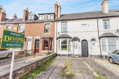 3 Bedrooms Terraced House for sale in Stourport Road, Bewdley, Kidderminster