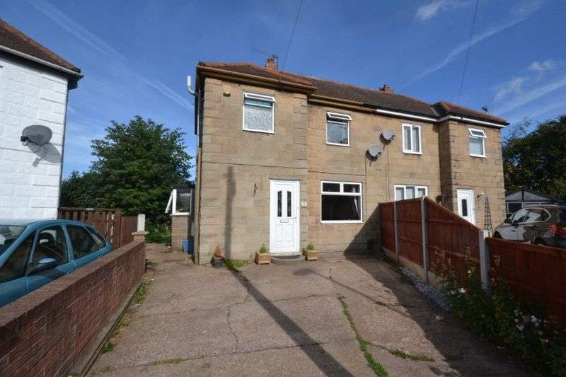 2 Bedrooms Semi Detached House for sale in EDWARD AVENUE, CHADDESDEN