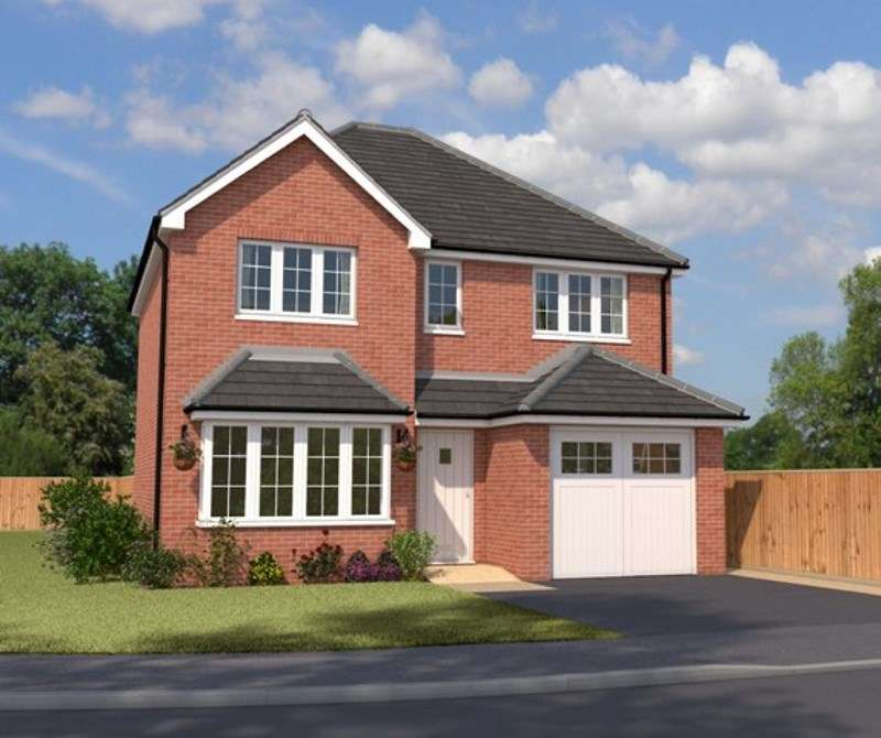 4 Bedrooms Detached House for sale in Moseley Meadow, Cavalier Circus, Wolverhampton