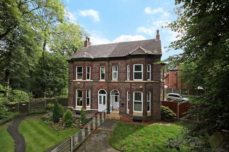 5 Bedrooms Semi Detached House for sale in Monton Road, Monton Village