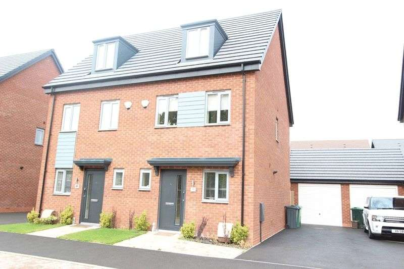 3 Bedrooms Semi Detached House for sale in Alexandra Road, Tipton
