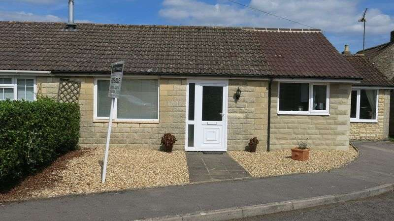 2 Bedrooms Semi Detached Bungalow for sale in Willow Crescent, Broughton Gifford