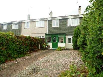 3 Bedrooms Terraced House for sale in Marnel Drive, Pentre, Deeside, Flintshire, CH5