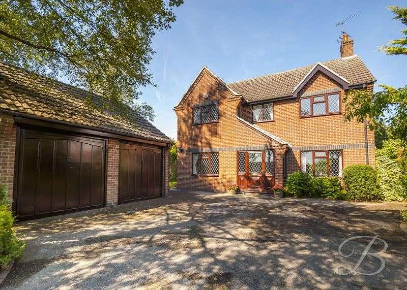 4 Bedrooms Detached House for sale in Diamond Avenue, Kirkby-In-Ashfield