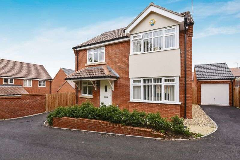 4 Bedrooms Detached House for sale in Crocker Way, BA9 9FY