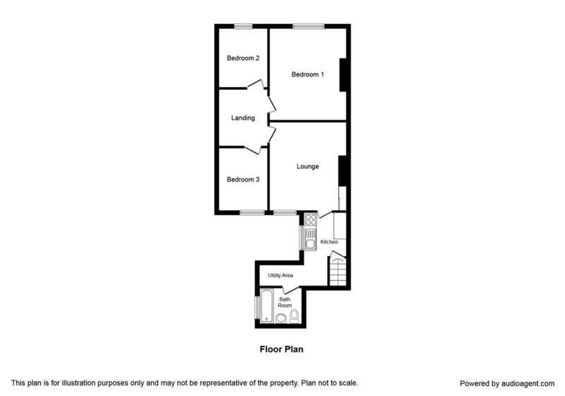 3 Bedrooms Flat for sale in Vine Street, Wallsend, NE28