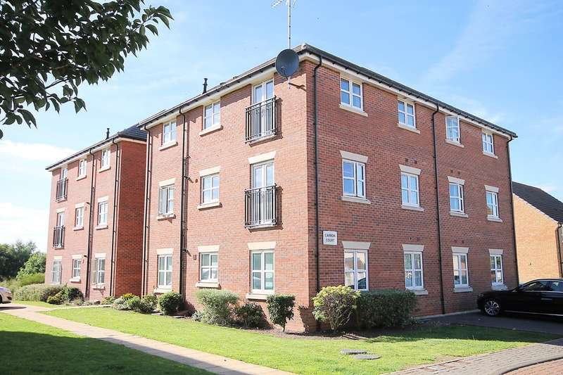 2 Bedrooms Flat for sale in Carron Court, Lyon Drive,Tamworth, B77 2TD