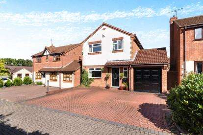 4 Bedrooms Detached House for sale in Oaklands, Worcestershire, Worcester