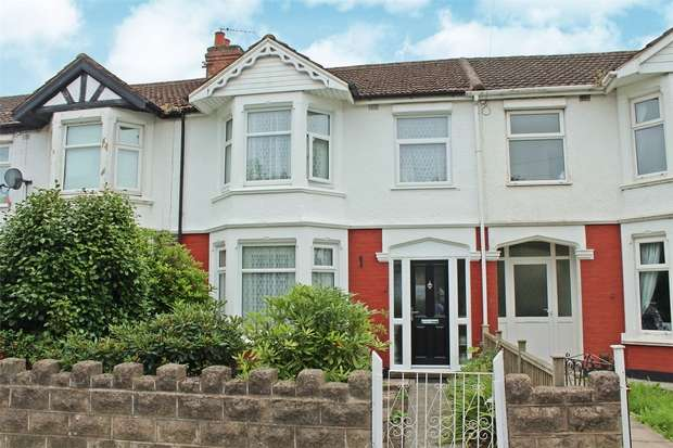 3 Bedrooms Terraced House for sale in Westhill Road, Coundon, Coventry