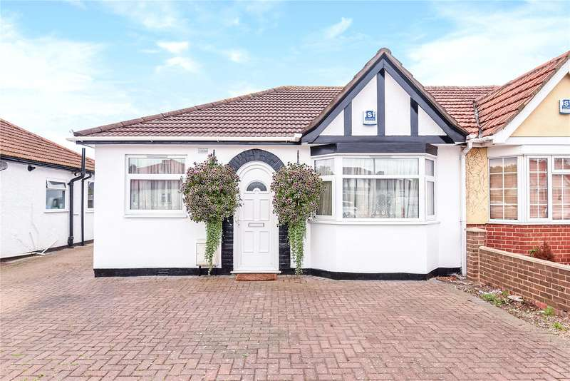 3 Bedrooms Semi Detached Bungalow for sale in Wingfield Way, South Ruislip, Middlesex, HA4
