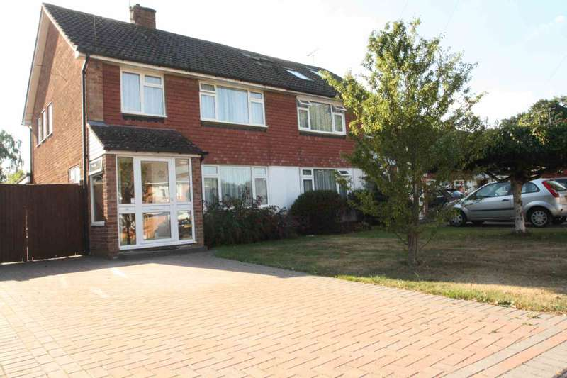 3 Bedrooms Semi Detached House for sale in Avalon Road, Earley