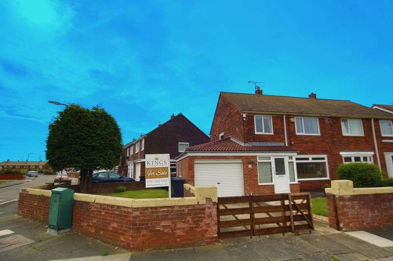 3 Bedrooms Semi Detached House for sale in Rembrandt Avenue, South Shields