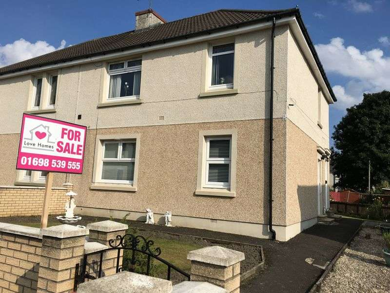 1 Bedroom Flat for sale in Hill Place, Motherwell