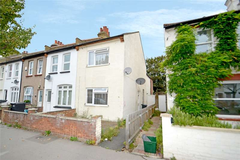 3 Bedrooms End Of Terrace House for sale in Exeter Road, Croydon