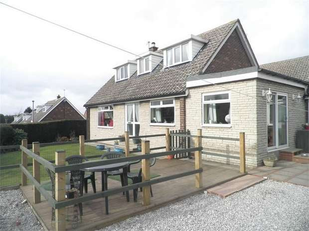 3 Bedrooms Detached Bungalow for sale in Manor Gardens, Ardsley, Barnsley, South Yorkshire