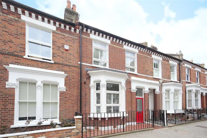 3 Bedrooms Terraced House for sale in Alderbrook Road, Nightingale Triangle, London, SW12